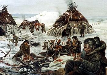 Paleolithic settlement