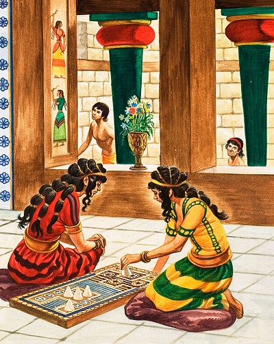 Life in a Minoan palace