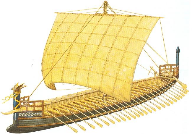 Mycenaean Ship