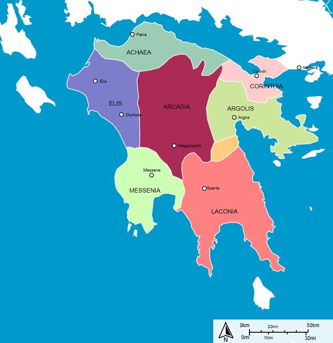 The Peloponnese