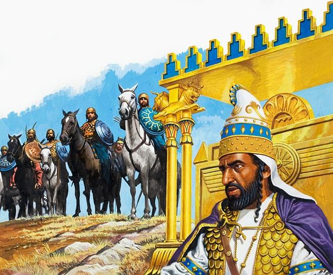 Xerxes at Salamis