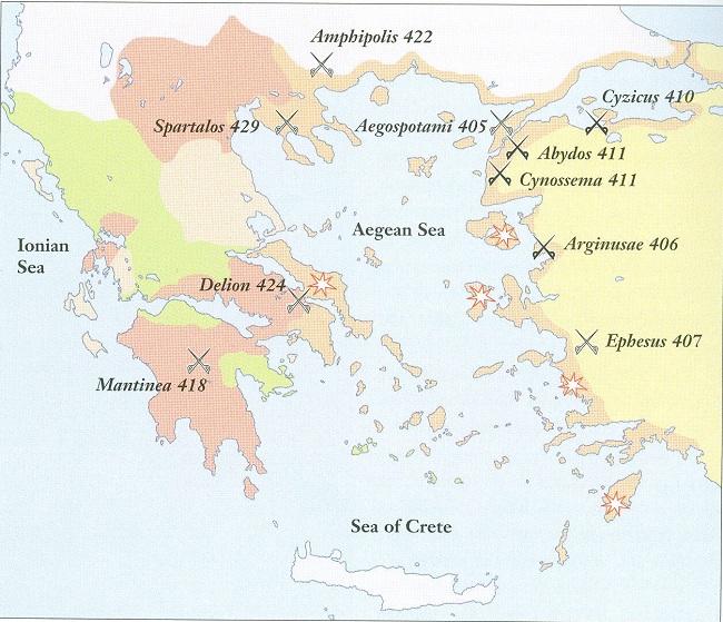 Battles of the Peloponnesian War