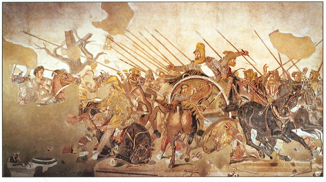 Mosaic of Alexander at Issus