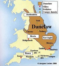Map Of England 793 Ad.Viking Invasions Of Europe